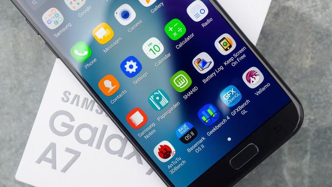 گلکسی آ 7 2018 (Galaxy A7(2018 ممکن است تنها در سه بازار اروپایی عرضه شود