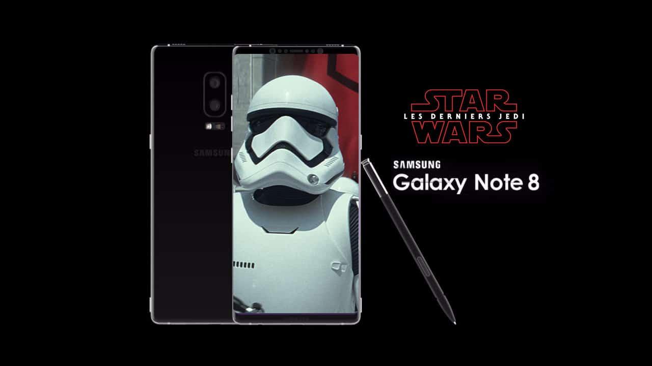 ممکن است بزودی نسخهی جدیدی از Galaxy Note 8 با محوریت جنگ ستارگان روانهی بازارها شود