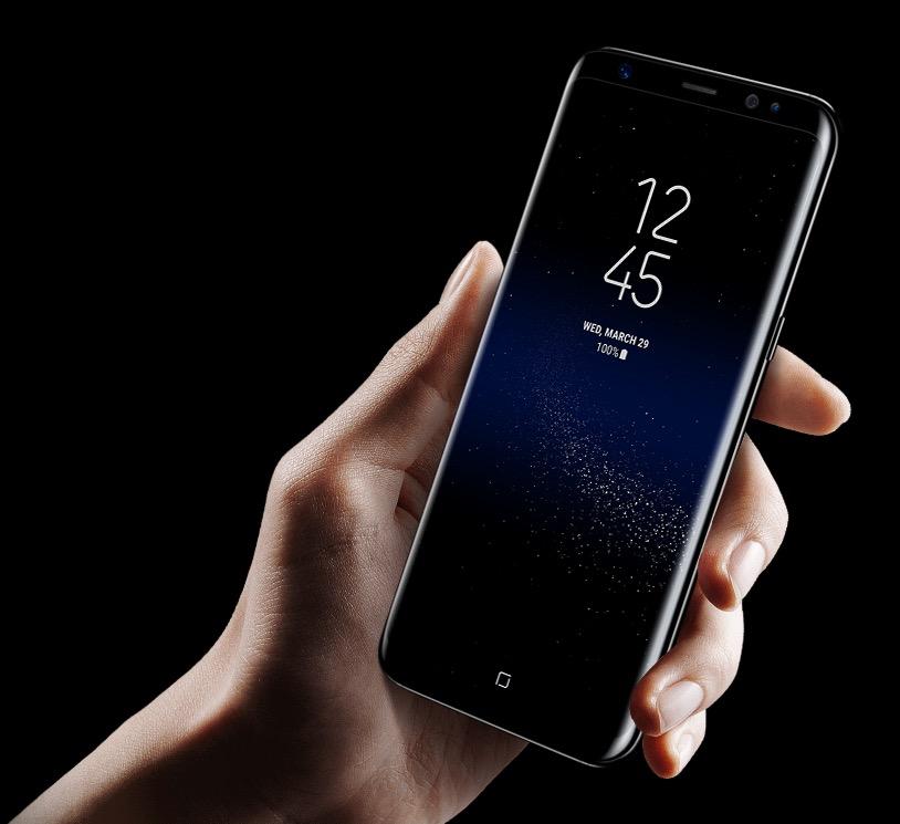 گلکسی اس ۹ (Galaxy S9) به حسگر اثر انگشت جدید مجهز میشود