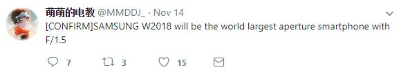 گلکسی W2018