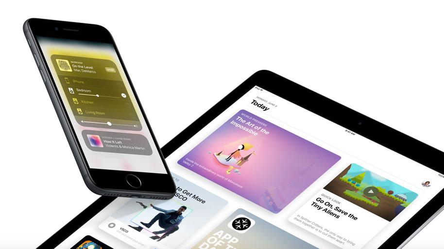 سهم iOS 11 از بازار