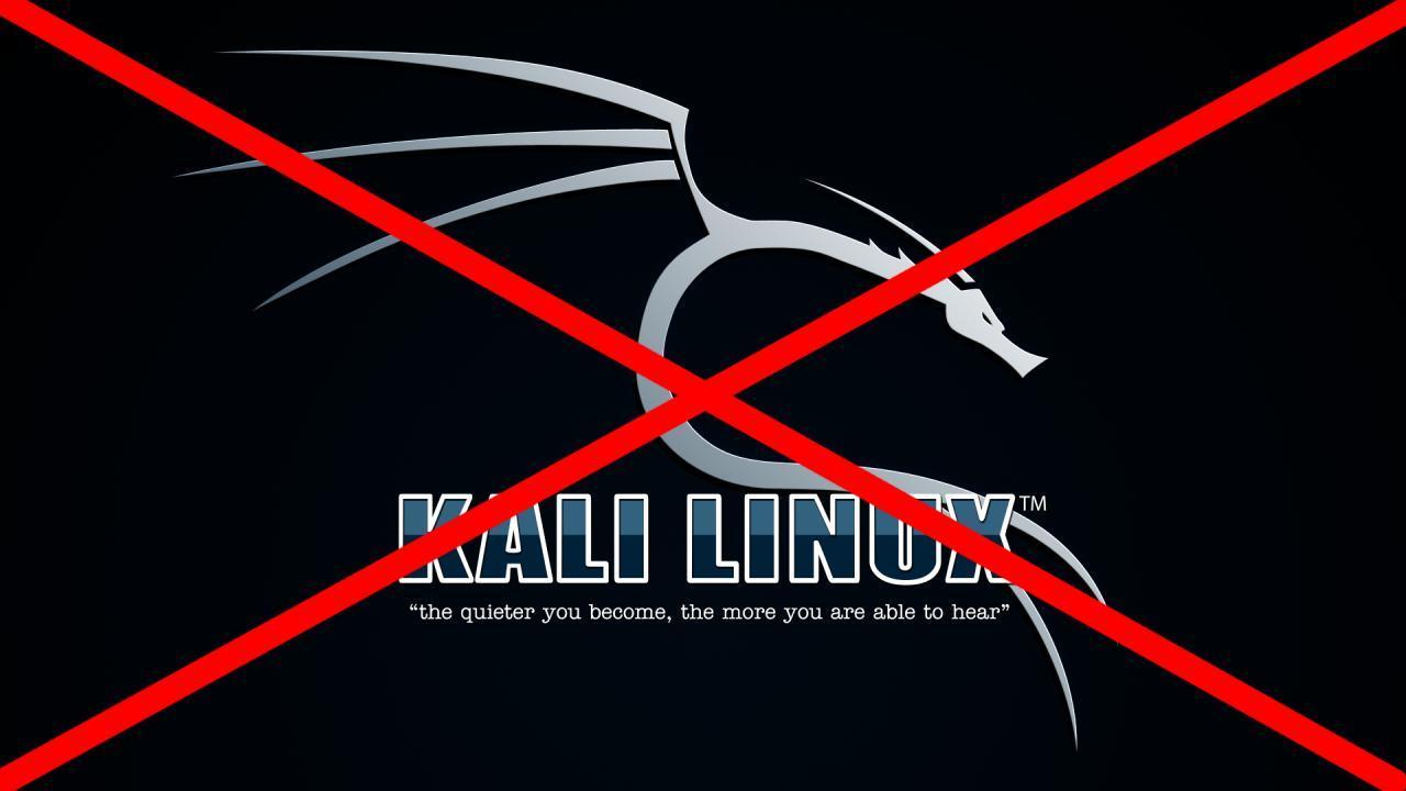 از کالی لینوکس استفاده نکنید!