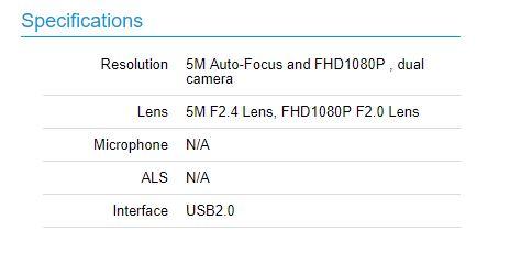 دوربین دوگانه سلفی نوکیا 9