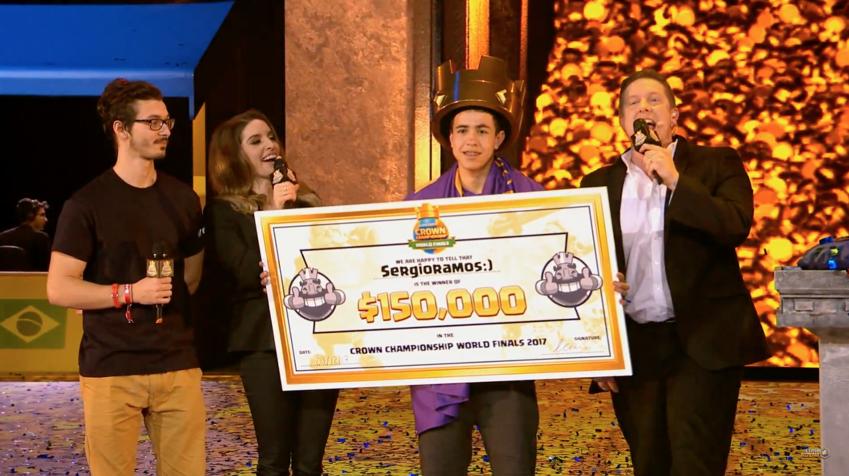 جایزه 600 میلیون تومانی کلش رویال (Clash Royale) به یک نوجوان مکزیکی رسید