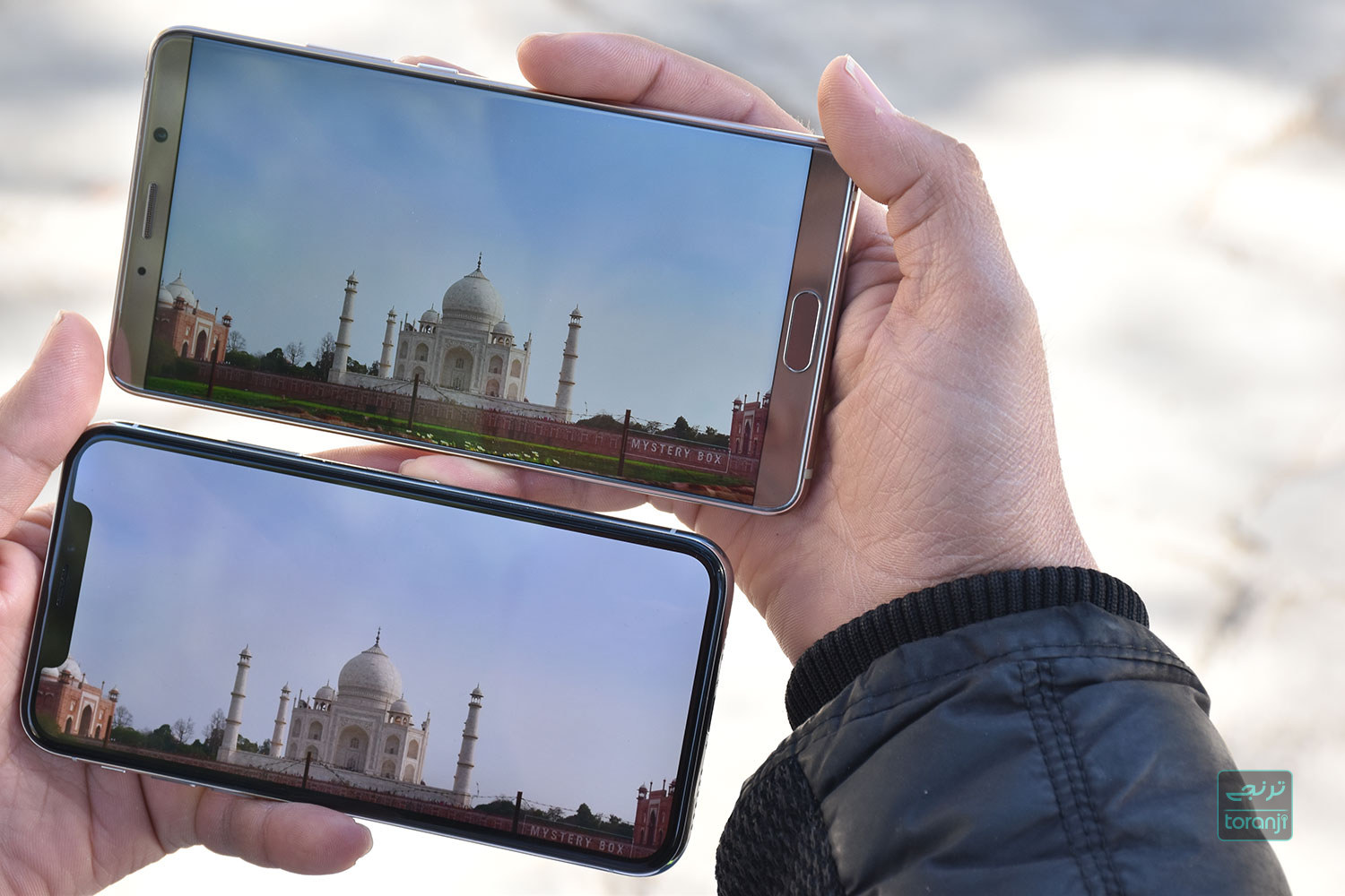 Mate 10 VS iPhone X (19) toranji