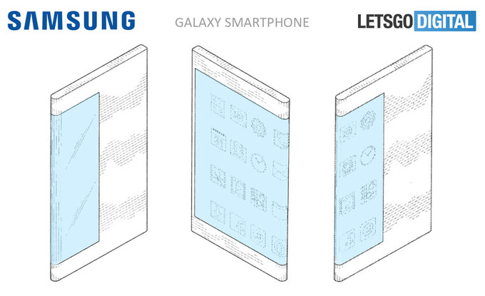 سامسونگ گلکسی ایکس (Galaxy X) در پتنتی دیگر دیده شد