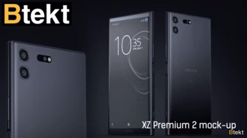 طرح مفهومی اکسپریا ایکس زد پریمیوم 2 (Xperia XZ Premium 2) منتشر شد