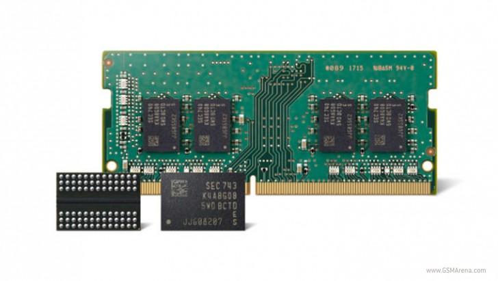آغاز تولید انبوه نسل دوم حافظه رم 10 نانومتری توسط سامسونگ