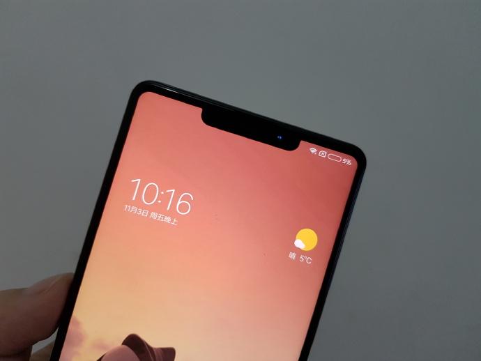 تصاویر پنل پشتی شیائومی می میکس 3 (Xiaomi Mi Mix 3) فاش شد