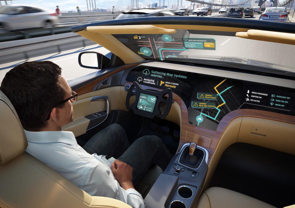 شرکت الجی و HERE Technologies برای ساخت خودروهای خودران همکاری میکنند