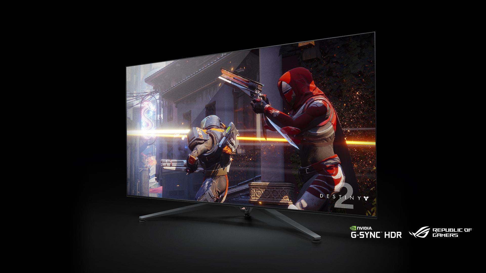 بزرگترین نمایشگر گیمینگ با پنل 65 اینچی توسط ایسوس معرفی شد