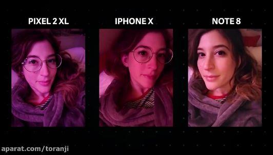 بهترین دوربین سلفی موبایل 2017