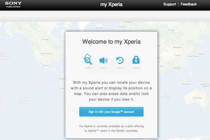 """سونی موبایل سرویس """"my Xperia"""" برای ردیابی دستگاههای سونی را تعطیل کرد!"""