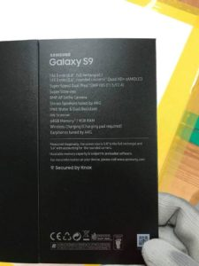 جعبه گلکسی اس 9