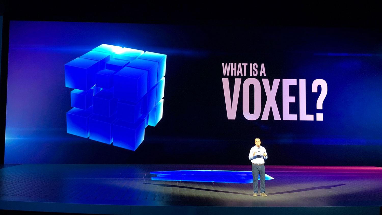اینتل وکسل (Voxel)
