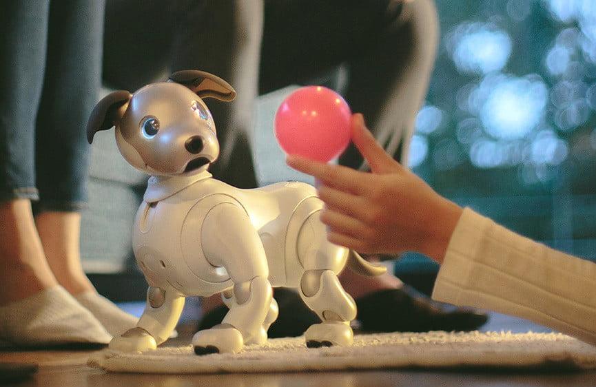 نگاه نزدیک به سونی Aibo ربات سگ سونی