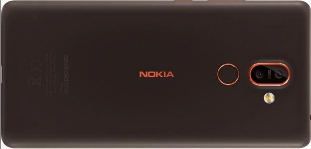 نوکیا 7+ (Nokia 7+) با نمایشگر 18:9 و دوربین دوگانه در دو رنگ لو رفت