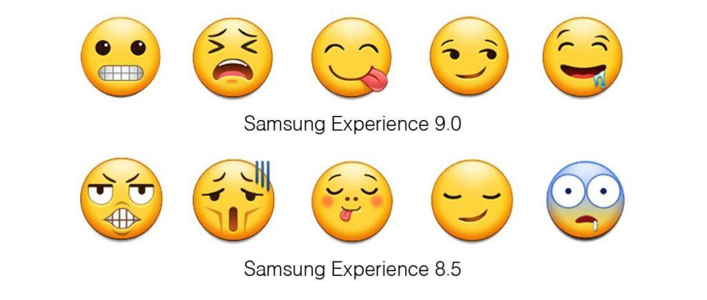 مقایسه رابط کاربری Experience 9.0 و Experience 8.5 ؛ اموجیهای جدید اینجاست!