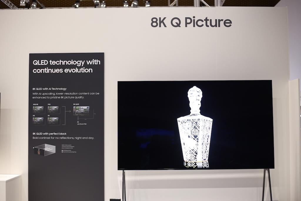 سامسونگ از تلویزیون ۸۵ اینچ QLED با رزولوشن 8K رونمایی کرد