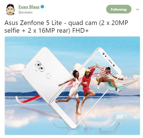 ایسوس ذنفون 5 لایت (Zenfone 5 Lite)