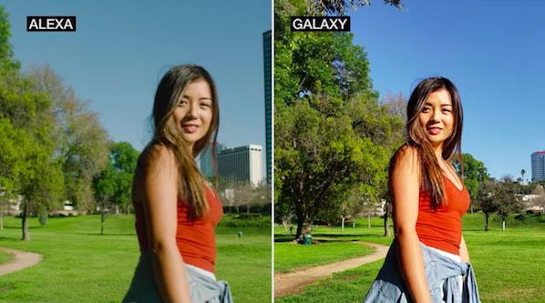 مقایسه فیلم برداری گلکسی اس 9 پلاس با دوربین حرفه ای