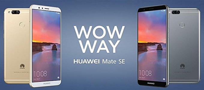 هواوی میت اسای (Huawei Mate SE) معرفی شد؛ نسخه ارتقا یافته Honor 7X با ۳۰ دلار بیشتر