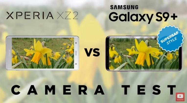 مقایسه دوربین اکسپریا ایکس زد 2 با گلکسی اس 9+