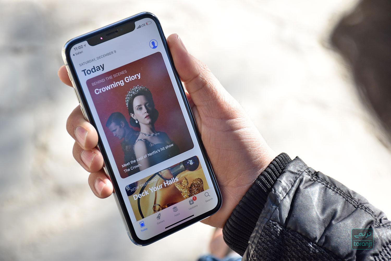بسته شدن اپ استور در ایران