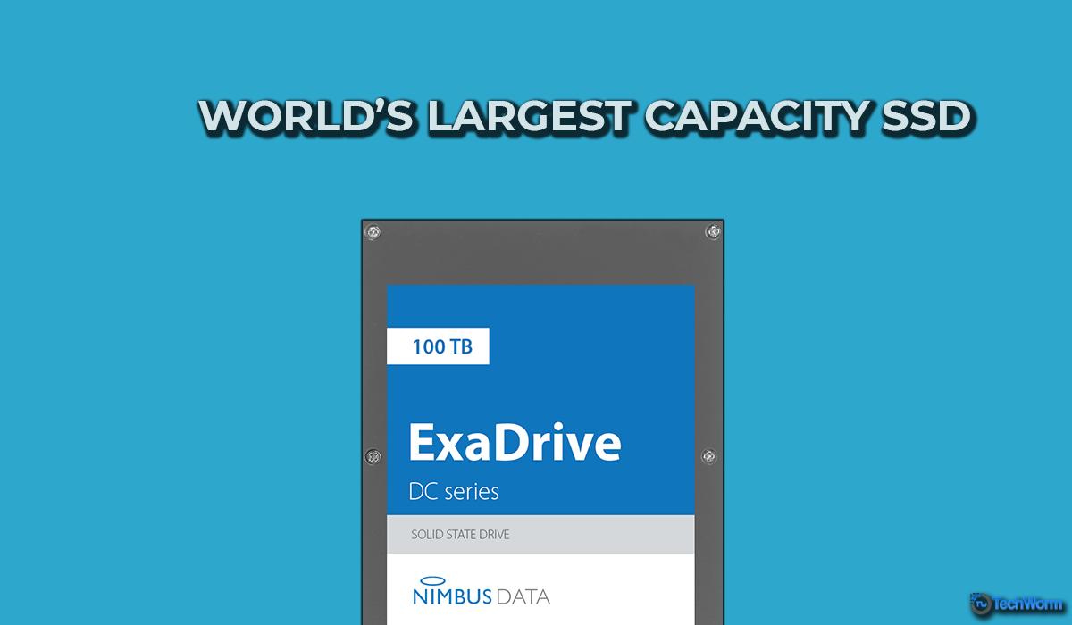 حافظه SSD با حجم 100 ترابایت