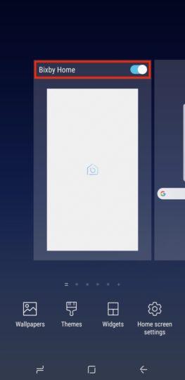 غیر فعال کردن بیکسبی هوم (Bixby Home )