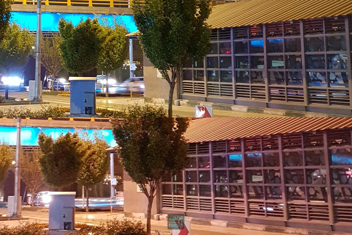 مقایسه دوربین گلکسی اس 9 با گلکسی اس 7