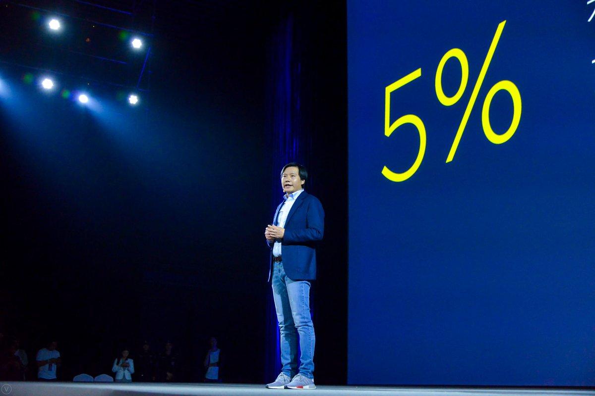 شیائومی امروز وعده داد تا اگر سود خالص آن ها بالای 5% بود باقی پول را به کاربران بازگرداند