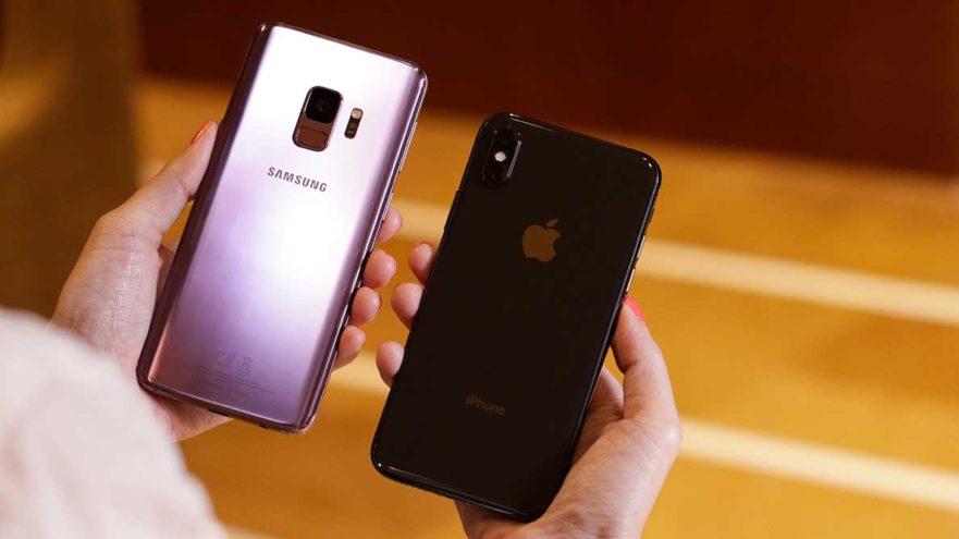 سامسونگ بیشترین سهم از بازار امریکا و اپل بیشترین وفاداری را در ماه گذشته ثبت کردند