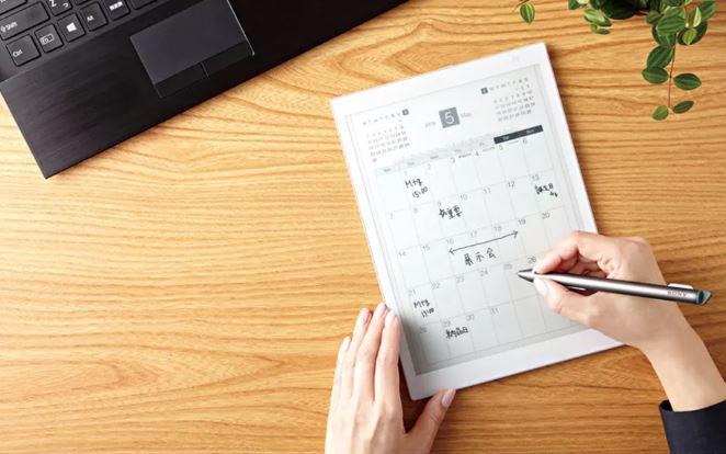 تبلت جدید سونی معرفی شد: تبلت جوهر الکترونیک کاغذ دیجیتال در اندازه A5
