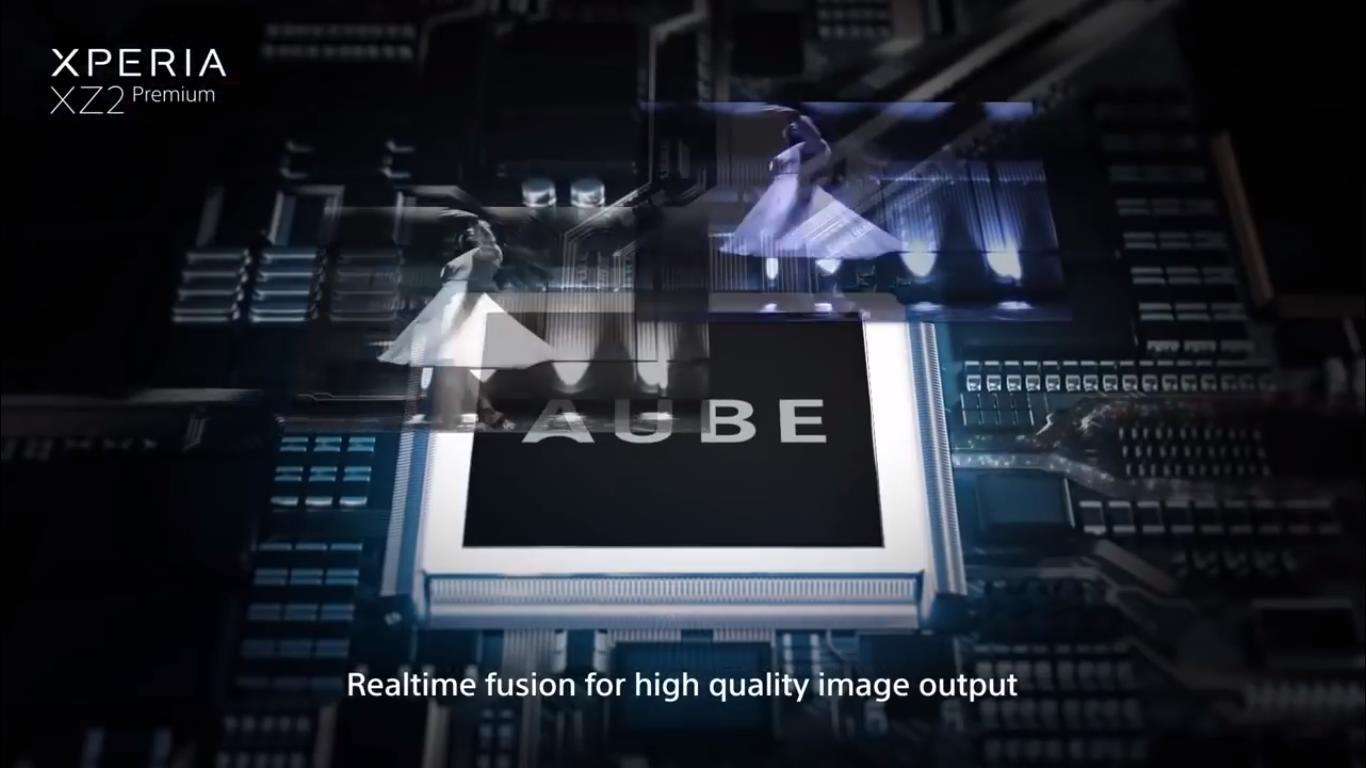 پردازشگر تصویر AUBE دوربین دوگانه اکسپریا ایکس زد 2 پریمیوم را در ویدیو رسمی سونی ببینید