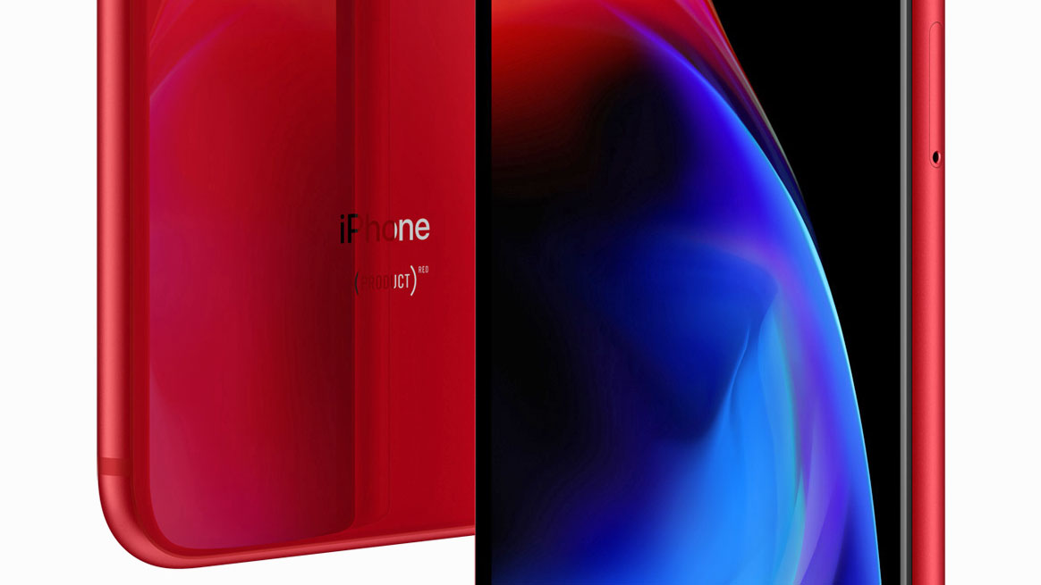 آیفون 8 و آیفون 8 پلاس قرمز در کنار قاب قرمز آیفون X رسما رونمایی شدند