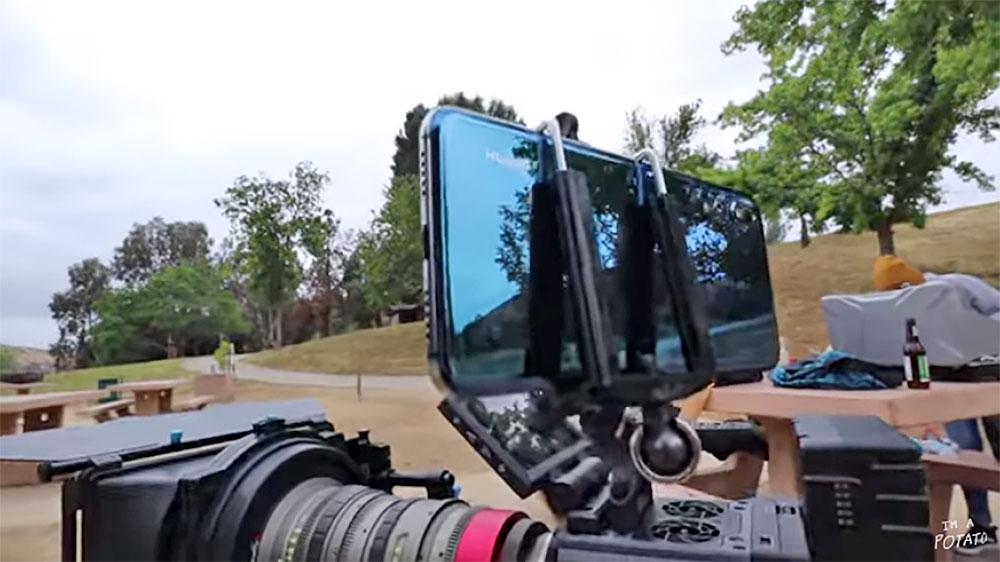 مقایسه فیلم برداری دوربین هوآوی پی 20 پرو با دوربین حرفه ای RED