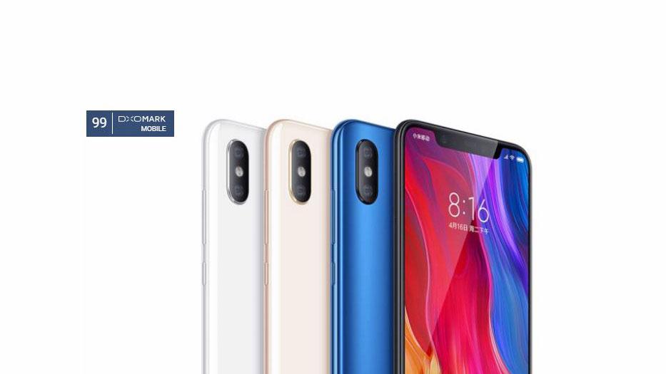 امتیاز DxO دوربین شیائومی می 8 (Xiaomi Mi 8) مشخص شد، بهتر از آیفون X