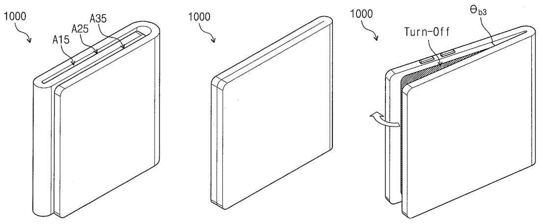 حق اختراع سامسونگ برای موبایل با نمایشر منعطف و نمایشگر شفاف دیده شد