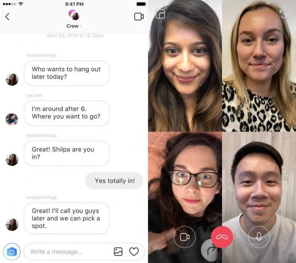 مکالمه ویدیویی اینستاگرام، صفحه اکسپلور جدید، هماهنگی با برنامه های ثالث و افکت های AR دوربین به زودی عرضه می شوند