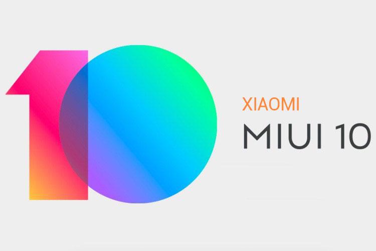 رابط کاربری MIUI 10 شیائومی
