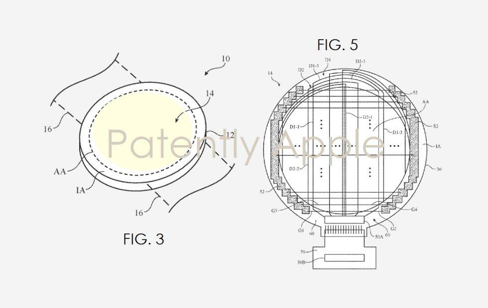 اپل واچ جدید با طراحی دایره ای عرضه خواهد شد یا این پتنت یک شیشه ای عینک است؟
