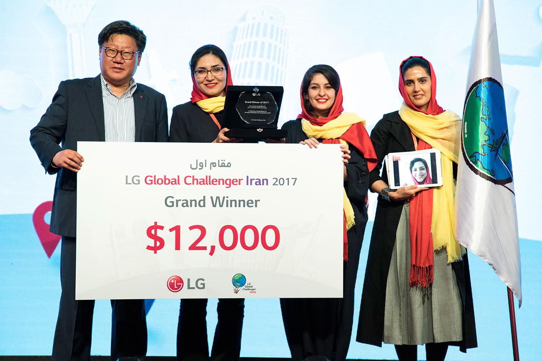 برنده جایزه 12 هزار دلاری مسابقه الجی چلنجر مشخص شد