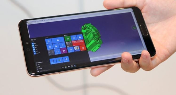 ویندوز 10 روی موبایل هوآوی