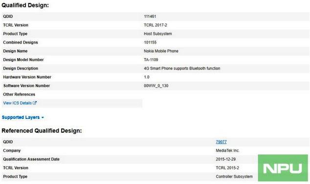 Nokia 5.1 Plus 1 - نوکیا ایکس 5 (Nokia X5) یا نوکیا 5.1 پلاس گواهی بلوتوث دریافت کرد