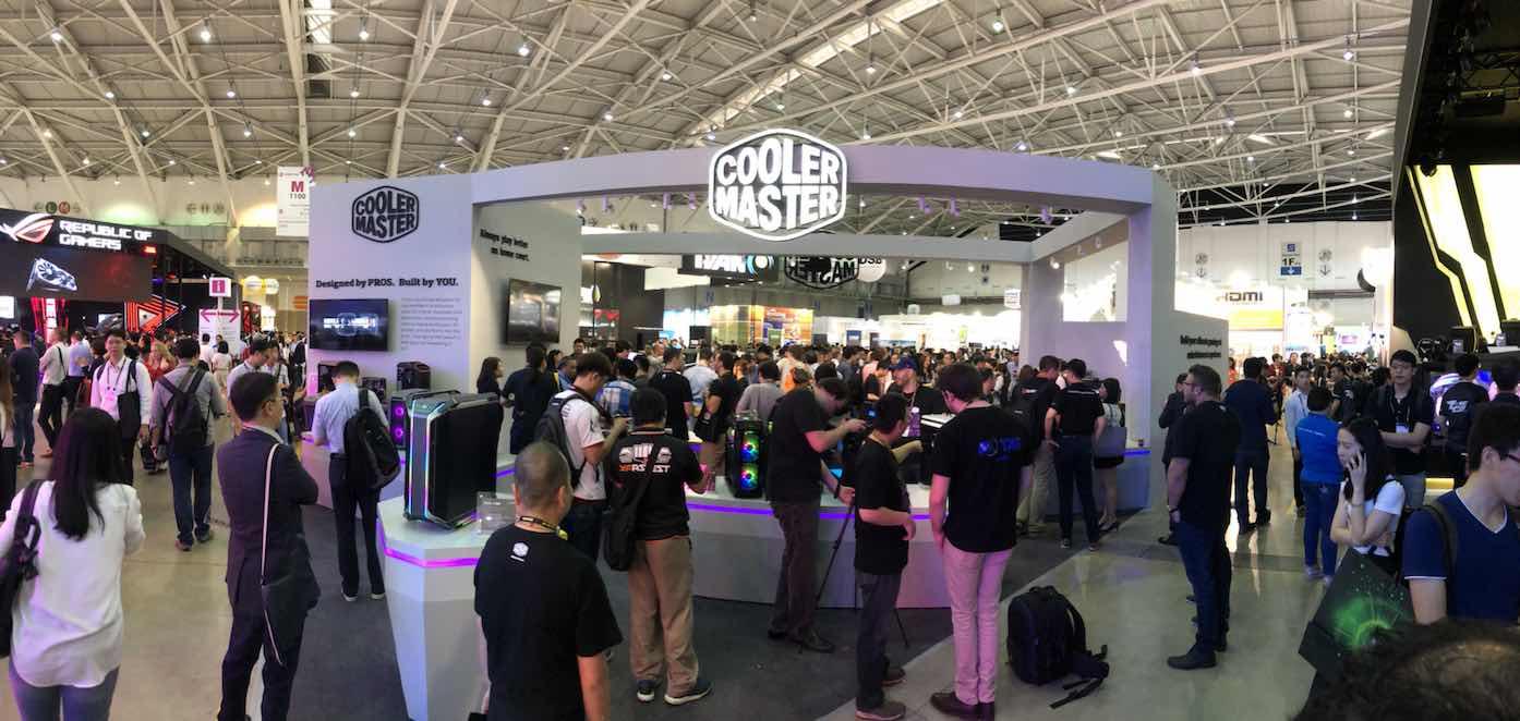 برترین محصولات کولرمستر در نمایشگاه کامپیوتکس 2018