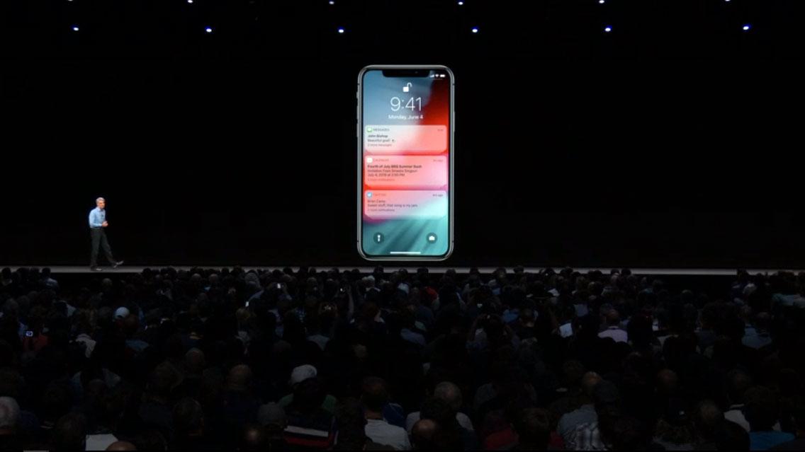نوتیفیکشن های iOS 12