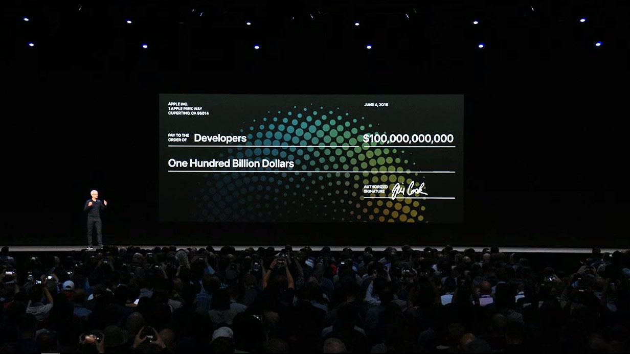 پرداختی اپل به توسعه دهنده ها