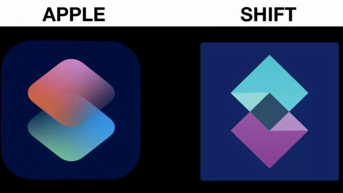 شکایت 200 هزار دلاری از اپل به دلیل شباهت لوگو برنامه Shortcut سیری