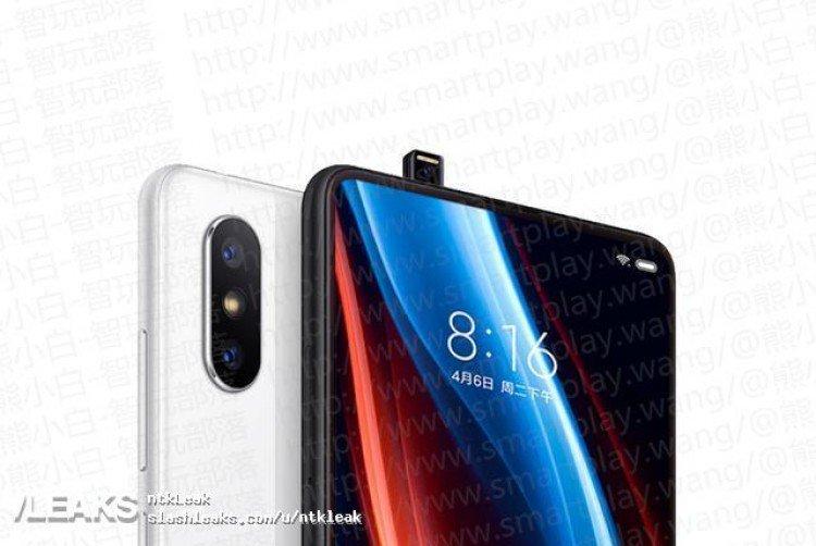 شیائومی می میکس ۳ (Xiaomi Mi Mix 3) با دوربین سلفی پاپ آپ طور لو رفت